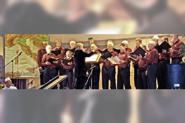 Der Gesangverein Niederweiler von seiner vielfältigen Seite