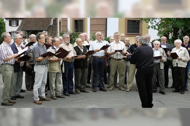 Seit 150 Jahren steht der Gesang im Mittelpunkt