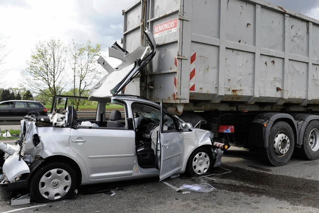Zwei schwere Unfälle