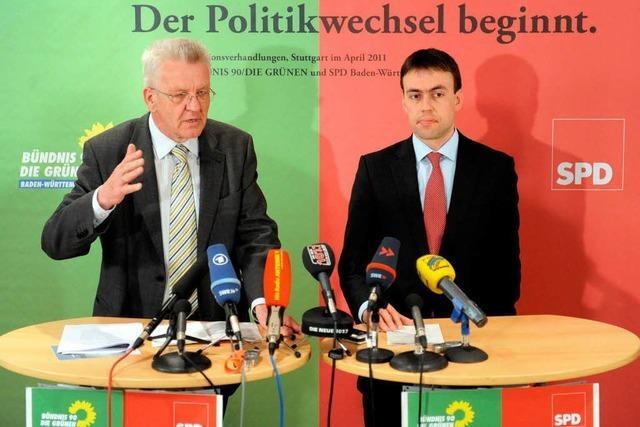 Koalitionsverhandlungen: Grün-Rot und die schwarzen Zahlen