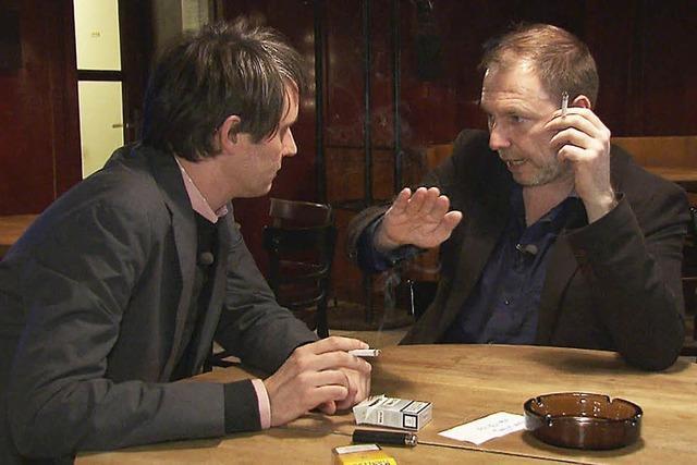 Zwei nette Männer in Berlin