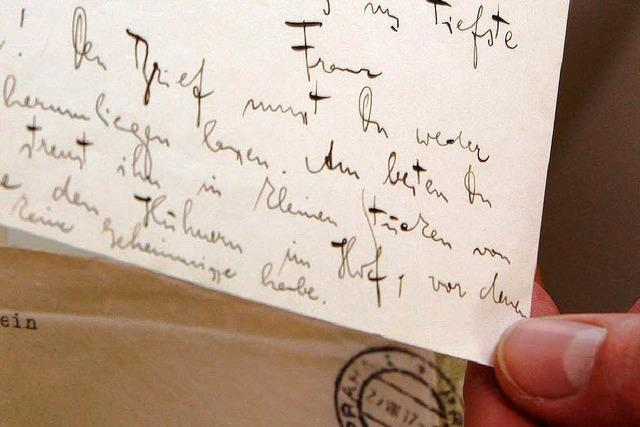 Marbach und Oxford erwerben Kafka-Briefe