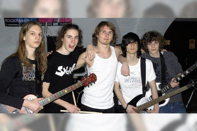 Drei Rockbands stellen ihre Kompositionen vor