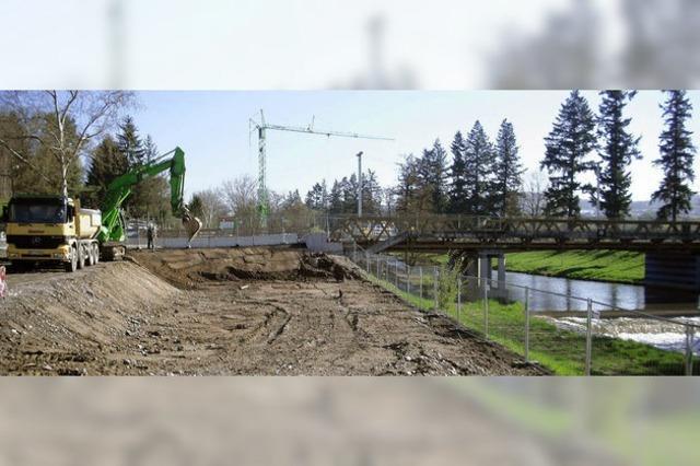 Wiesebrücke bald wieder im Dienst