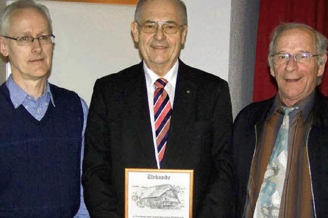 Altbürgermeister nun Ehrenmitglied