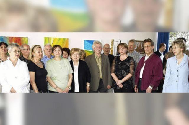 Haagener Rathaus wird zur Galerie