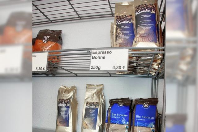 Kumbo-Ja-Kaffee ist ausgegangen