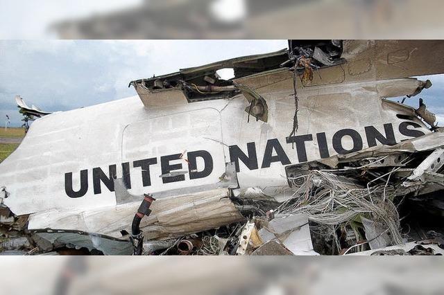 Flugzeug der UNO im Kongo zerschellt beim Landen