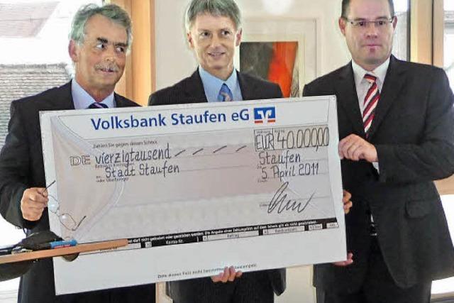 40 000 Euro für den Kampf gegen Risse