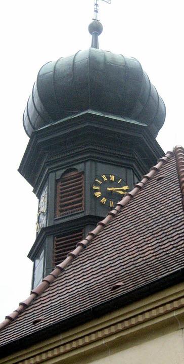 In die Söldner Kirche kehrt am Wochene...estaurierte Bild Heiliges Grab zurück.  | Foto: Archiv: BZ