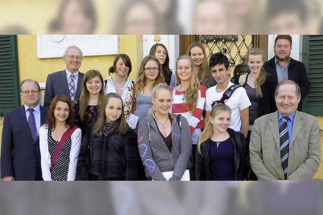 Comenius-Projekt lebt