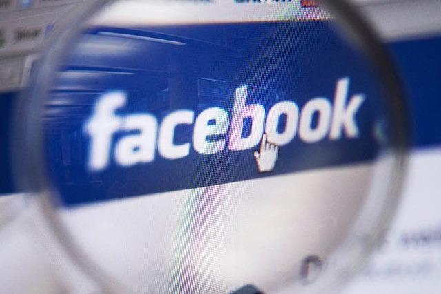 Bei Facebook vermischt sich Privates und Berufliches