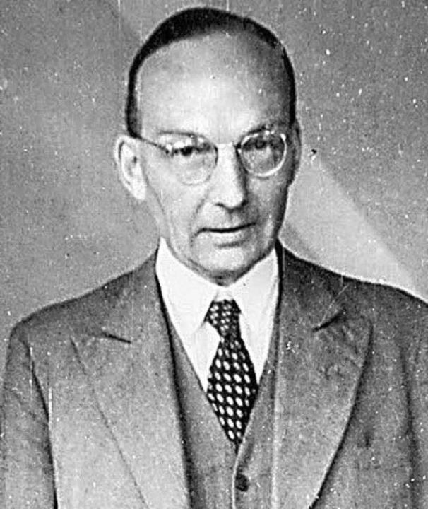 Constantin von Dietze   | Foto: bz-archiv