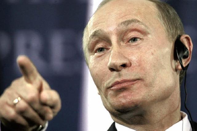 Vertrauen ist gut, aber Putin kontrolliert lieber