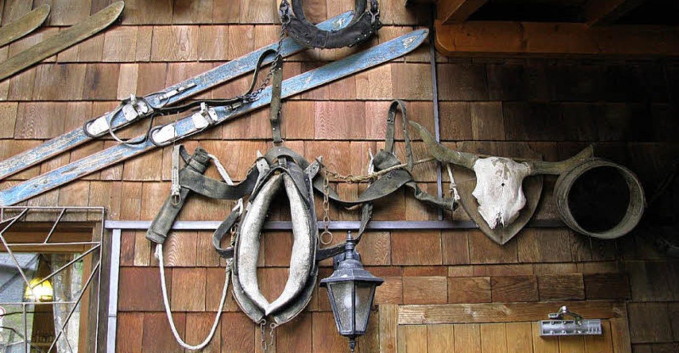 Was mal wichtig und nützlich war: Bergwerkstüble von außen.  | Foto: Manfred Lange