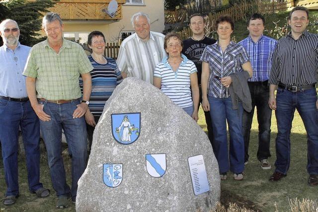 Granit schmückt nun das Anwesen