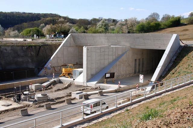 Jetzt geht der Tunnelausbau weiter