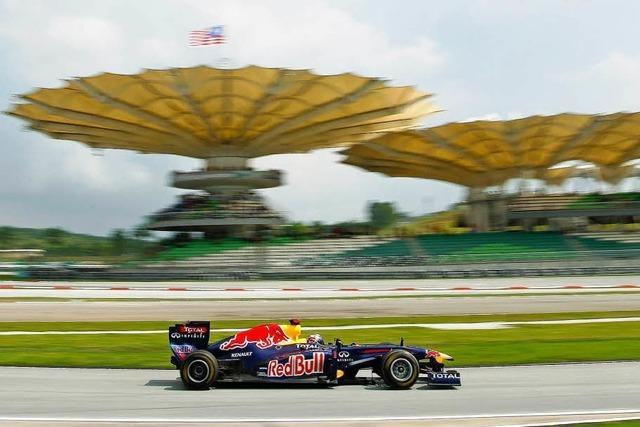 Formel 1: Webber zeigt Vettel den Auspuff