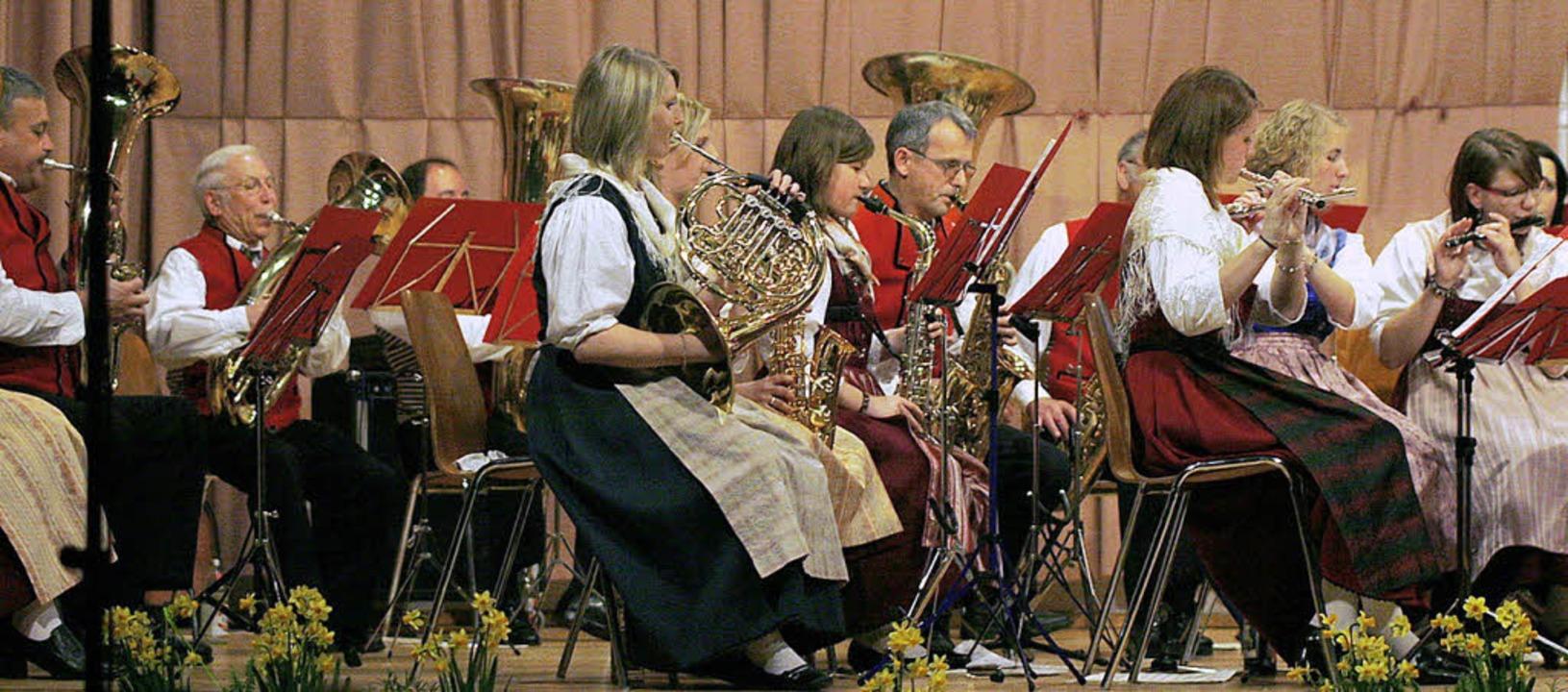 Moderne Klänge: das Konzert der Trachtenkapelle  | Foto: heidi fössel