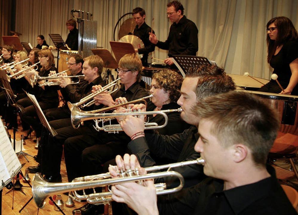 Der Musikverein Mahlberg bot ein anspruchsvolles Programm.  | Foto: Sandra Decoux-Kone