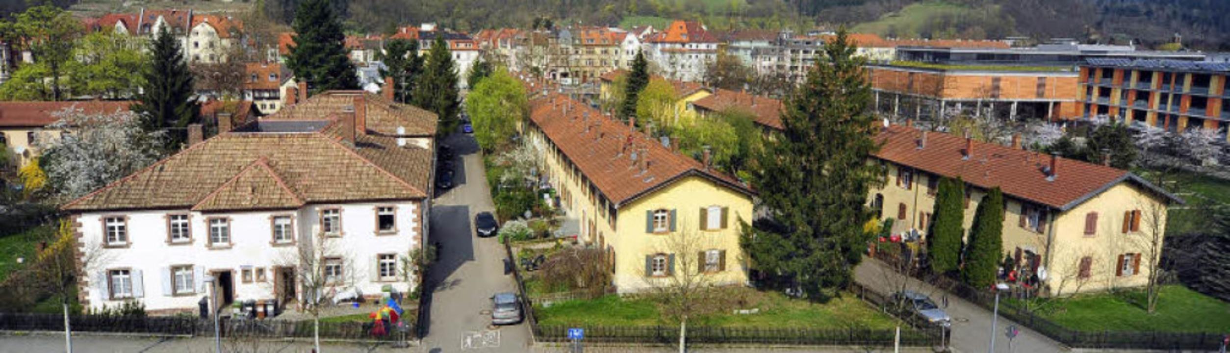 """In Freiburg gehörte die Siedlung der K...""""Zentrum Oberwiehre"""" (ZO).    Foto: Thomas Kunz"""