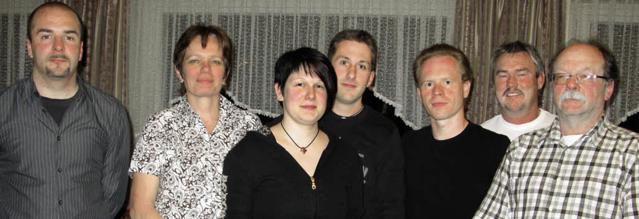 Das Vorstandteam des Harten Kerns Bern..., Christoph Köpfer und Martin Albiez.   | Foto: Ulrike Spiegelhalter