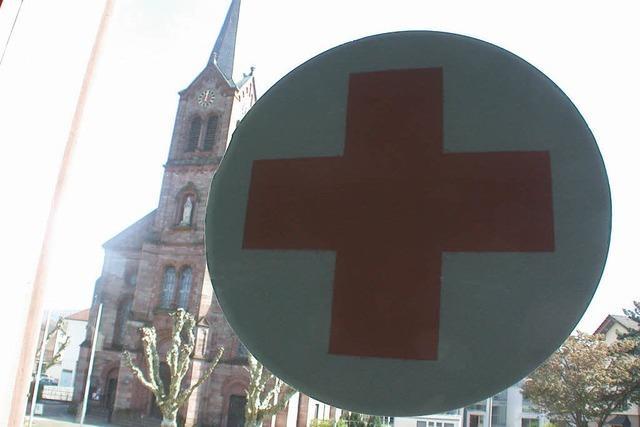 Das Kreuz mit der DRK-Raumsuche