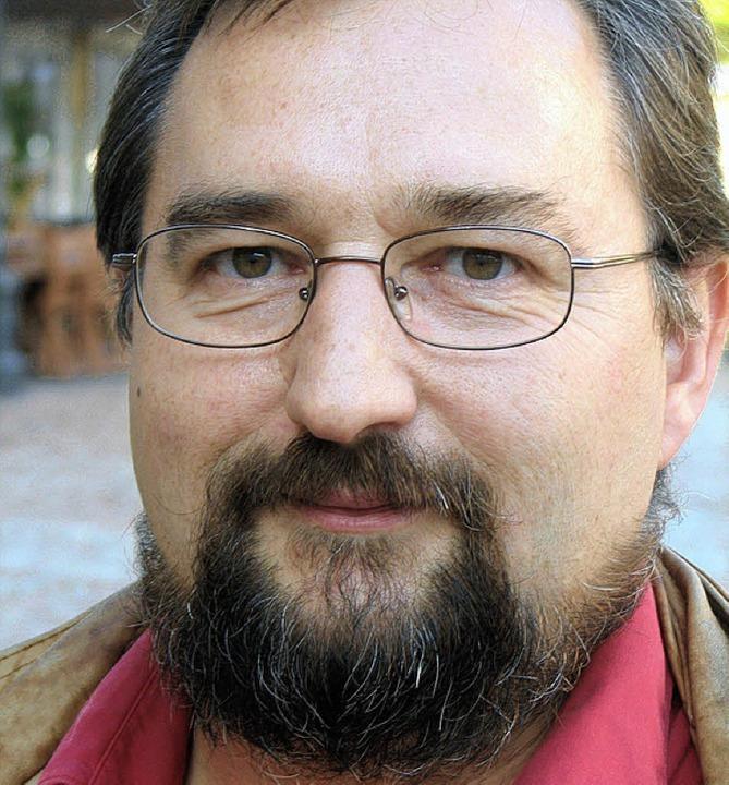 Bereits zum vierten Mal Organisator de... Gartentür: der Wehrer Fritz Lehmann.   | Foto: Michael krug