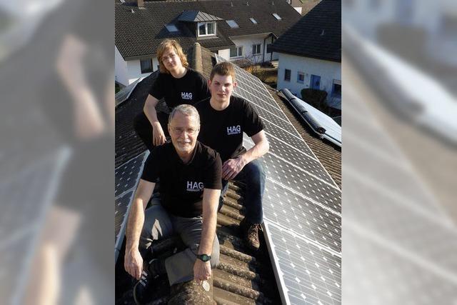 Staufener Schüler suchen Dächer für Solaranlagen