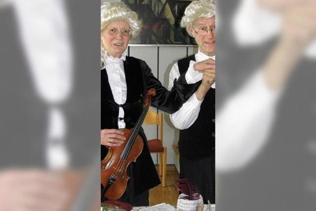 Wie Mozart zur Constanze fand