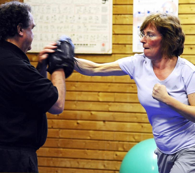 Die richtigen Griffe und ein gesundes ...Eine wichtige Zielgruppe sind Frauen.   | Foto: Fotos: Ingo Schneider