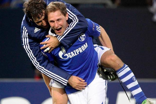 Champions League: Schalke nach 2:1 gegen Inter im Halbfinale