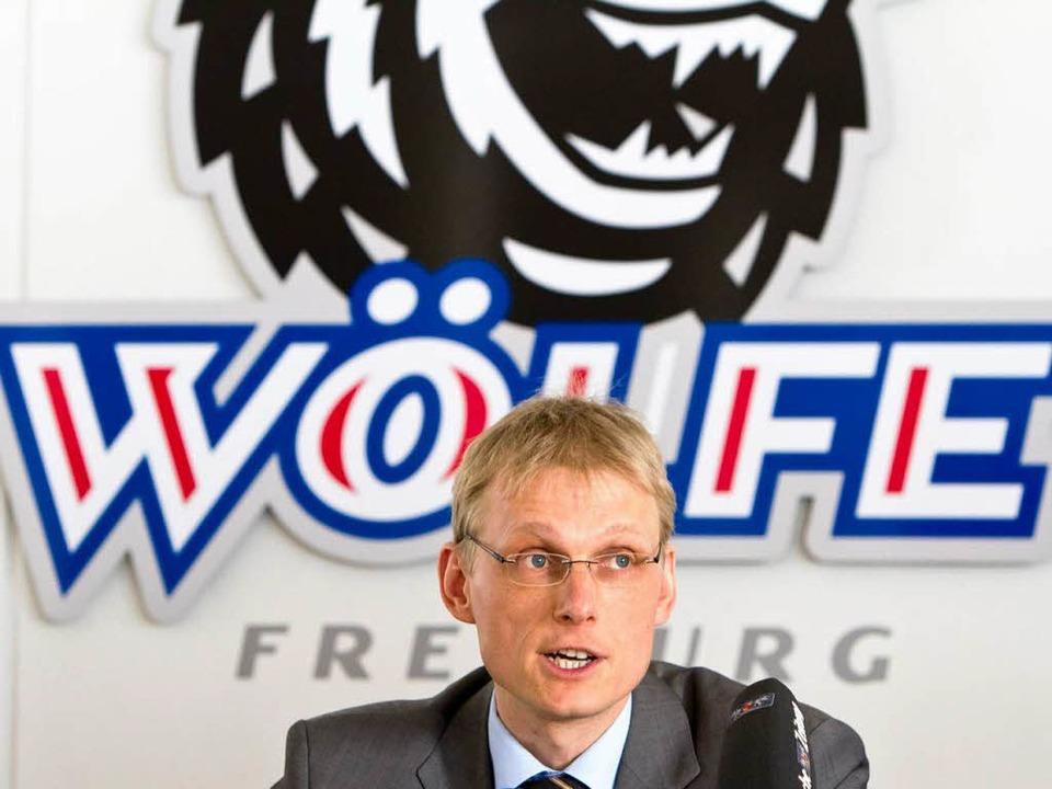 Machtlos: Auch Insolvenzverwalter Thilo Braun kann die Wölfe nicht retten.  | Foto: Dominic Rock