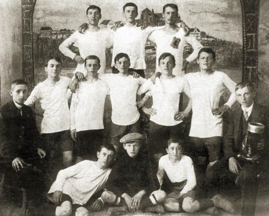 "Sportfreunde ""Hertha"" Freiburg Grpündung am 11. April 1911    Foto: Privat"