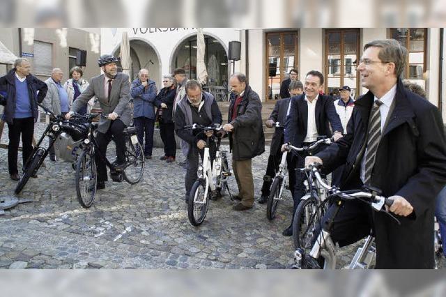 Per E-Bike leichter durch die Region