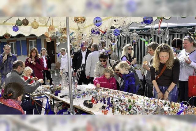 Der Künstlermarkt – ein Genuss