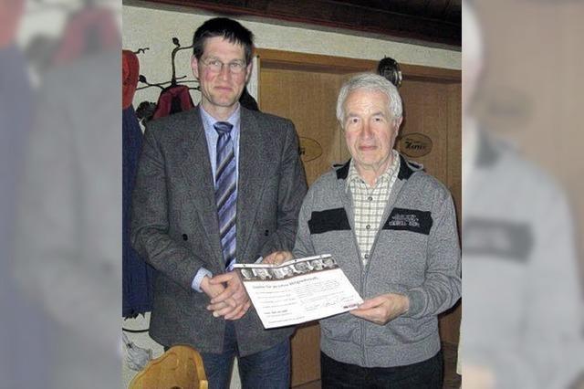 Gerold Sahl seit 50 Jahren Christdemokrat