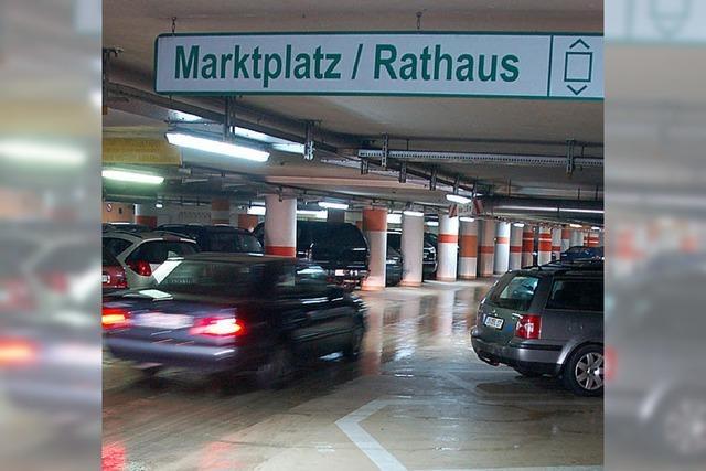 Garage unterm Marktplatz soll heller werden