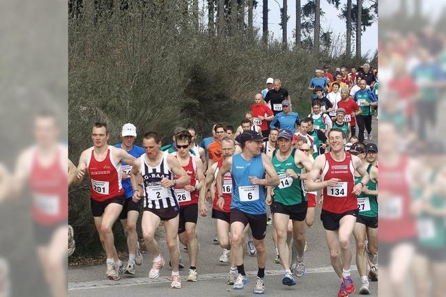 Rekordfeld beim Weihermooslauf