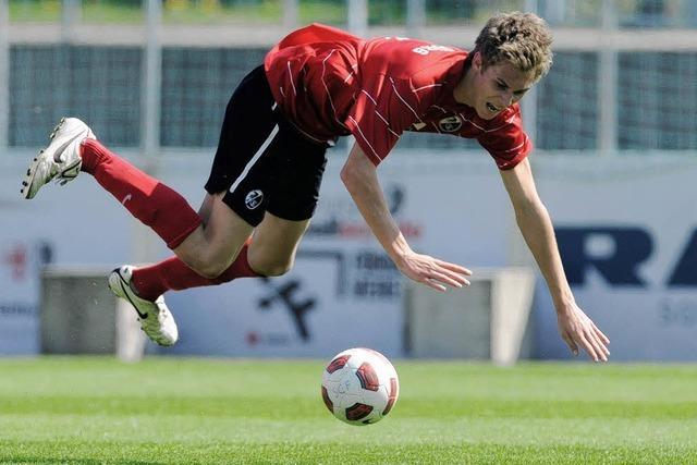 Bergdorf hält SC im Spiel