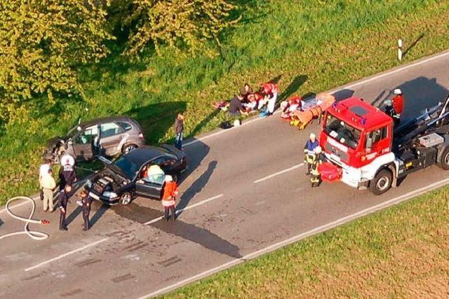 Fünf Personen verletzt