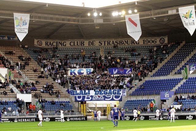 Racing Straßburg, zum Aufsteigen verdammt