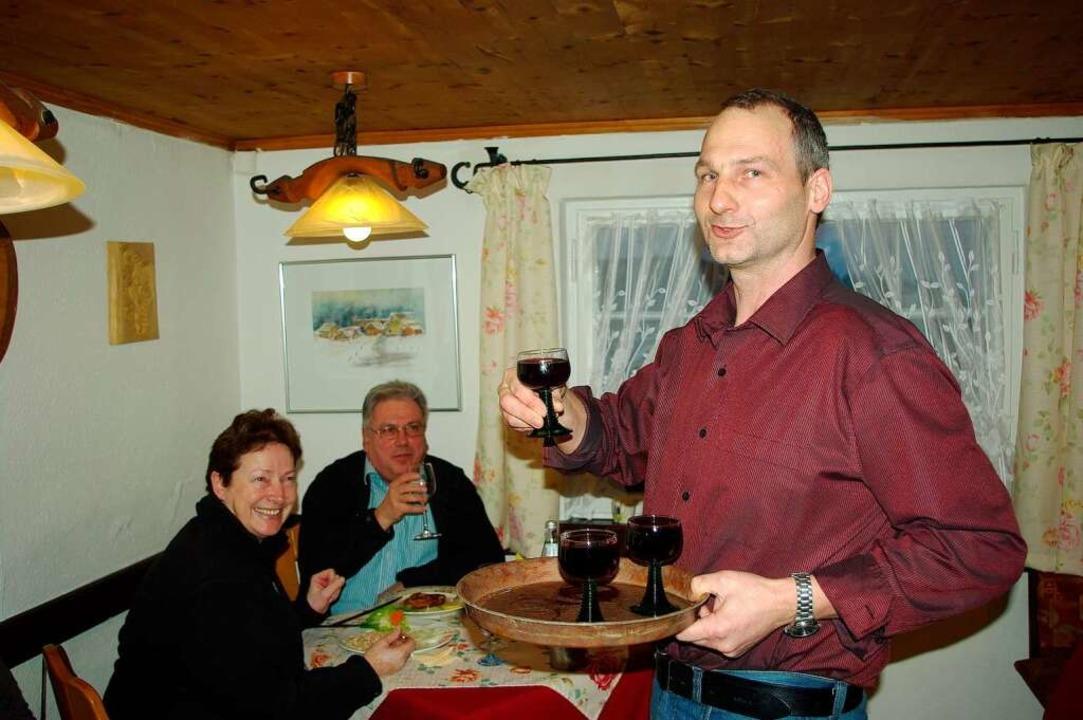 Martin Brandstetter, Wirt im Hummelswälder Hof.  | Foto: hrö