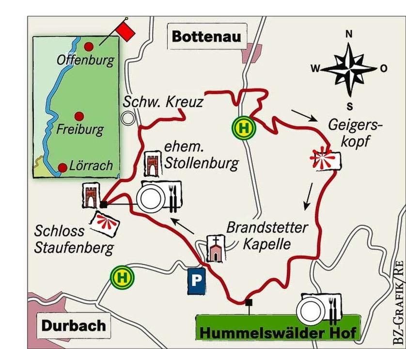 Karte: Hummelswälder Hof  | Foto: bz