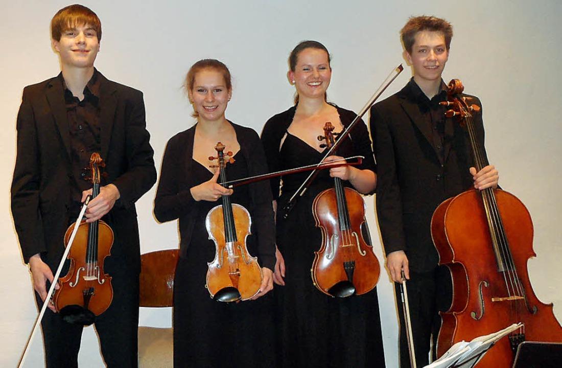 Beeindruckend in Interpretation  und T...rte beim Stubenhauskonzert in Staufen.    Foto: Bianca Flier