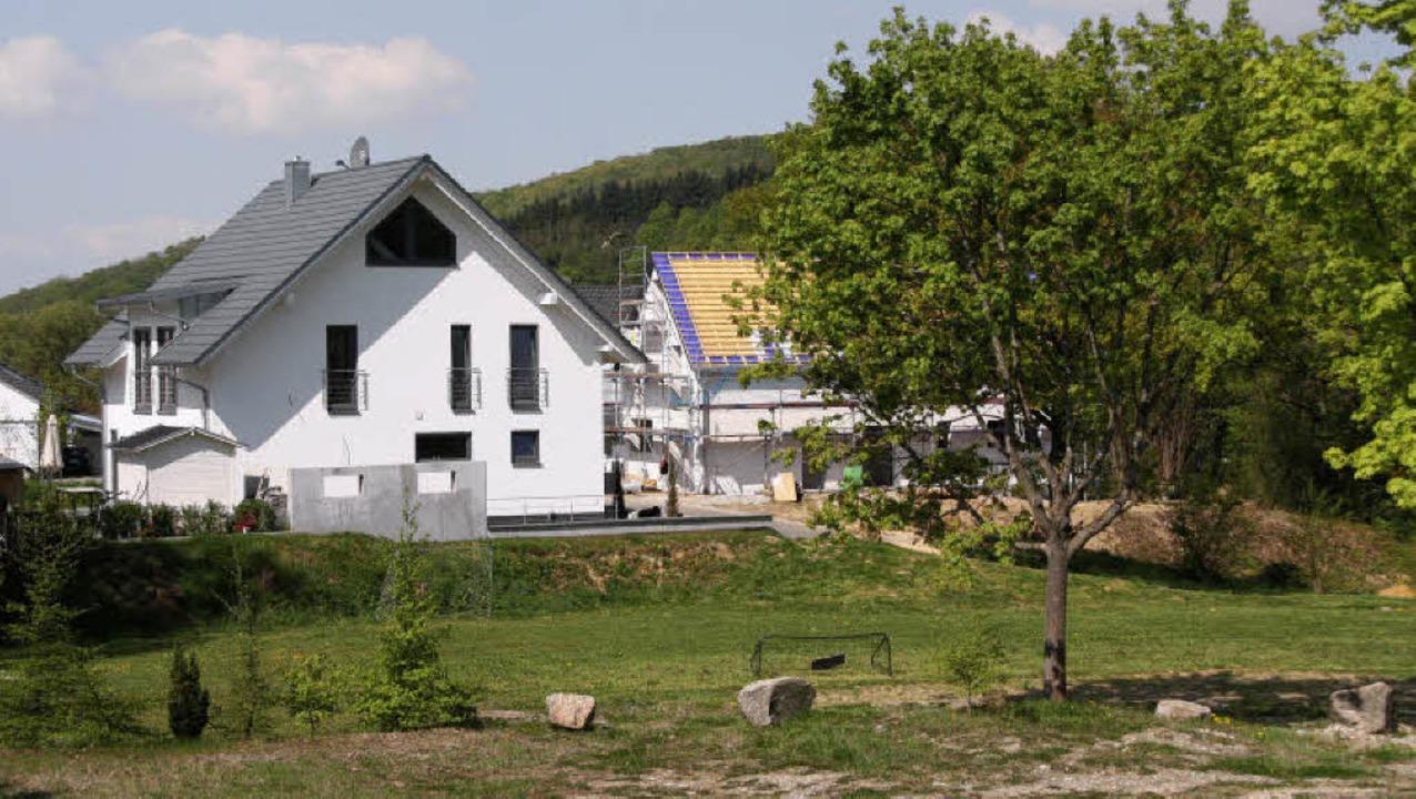 Umstritten ist im Bollschweiler Rat  d...ild zeigt die Ansicht vom Bauhof aus.     Foto: Silvia Faller