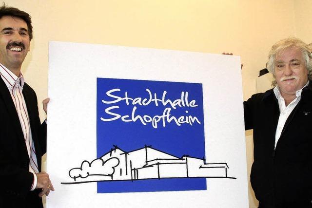 Neues Logo für die Stadthalle