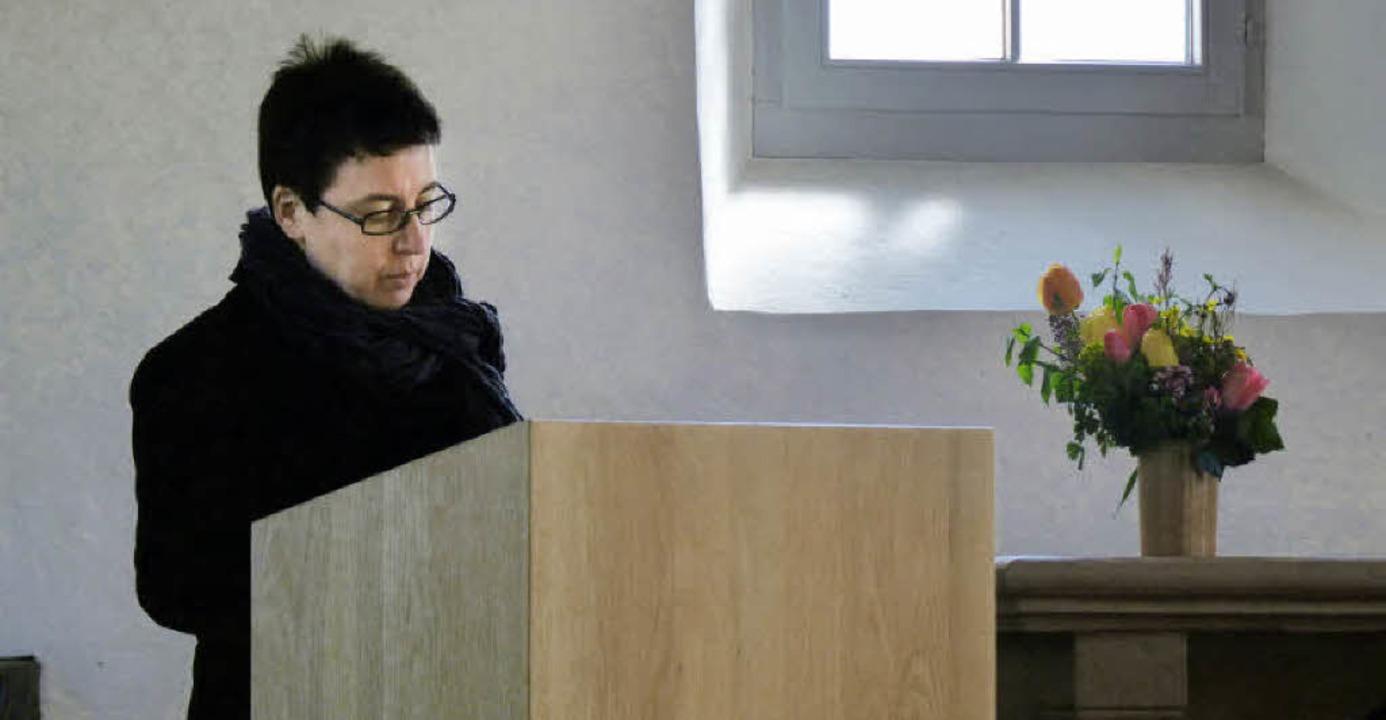 Fahrnauer und Kürnberger Bürgerinnen u...en Besucher in die Kirche St. Agathe.     Foto: Benedikt Arnold
