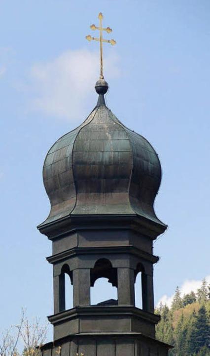 Doppeltes Sinnbild: Das Kreuz mit den zwei Querbalken.   | Foto: kbl