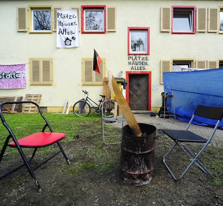 Die Häuserzeilen in Herdern sollen abgerissen werden.   | Foto: Thomas Kunz